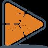 SBP Logo 2015 (Transparent BG) Stacked Slate-Orange